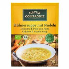 Sopa Sobre Instan de Pollo con fideos BIO 80 gr