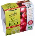 Compota Manzana S/A 100 % fruta BIO 4 x100 gr