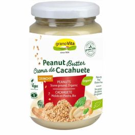 Crema BIO cacahuete crunchy 330 gr.GRANOVITA