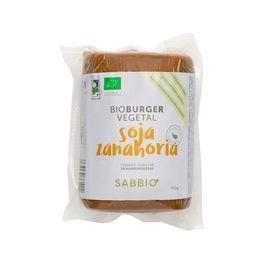Burguer vegetal Soja y zanahoria 750gr SABBIO BIO