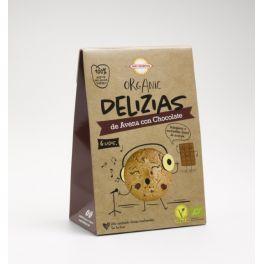 Txiki Delizias de Avena con chocolate BIO 45gr BIODARMA