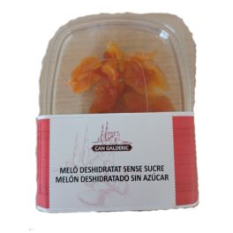 Melon SIN AZUCAR 100% fruta deshidratado 120gr CAN GALDERIC
