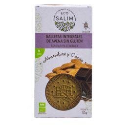 Galleta de Avena - almendra y cacao BIO - Vegan- S/G 135gr ECOSALIM