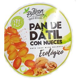 Panes BIO Datil + Nueces 200 gr DE JUAN