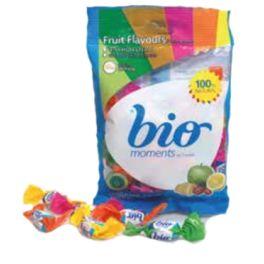 TIRA caramelos FRUTAS 60gr ( 10 bolsitas) BIO ) ( BIOMOMENTS