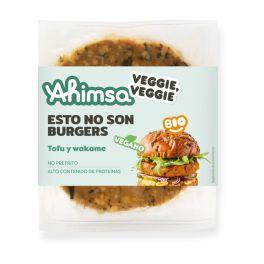 Burger Tofu Wakame 160gr BIO AHIMSA